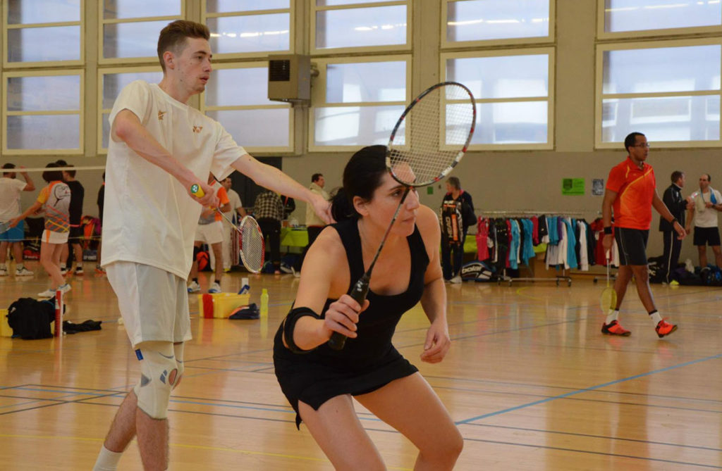 Entrainement horaires Badminton Marmande