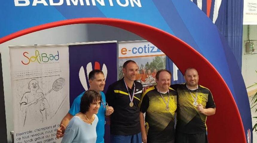 medaille championnat de france veteran 2017